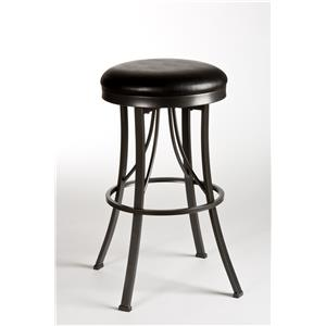 Hillsdale Metal Stools Ontario Backless Bar Stool