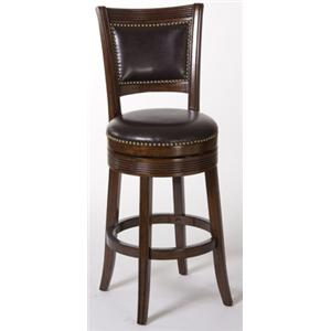 Hillsdale Metal Stools Lockfield Swivel Counter Stool
