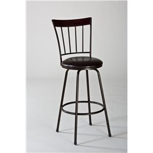 Hillsdale Metal Stools Cantwell Swivel Counter/ Bar Stool