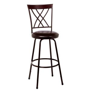 Hillsdale Metal Stools Northland Swivel Counter/Bar Stool