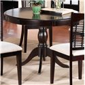 Hillsdale Bayberry and Glenmary Round Pedestal Table - Item Number: 4783DTB