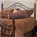 Hillsdale Metal Beds Full/Queen Madison Headboard - Item Number: 1010-490+000