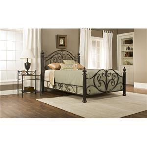 Hillsdale Metal Beds Grand Isle Queen Bed Set