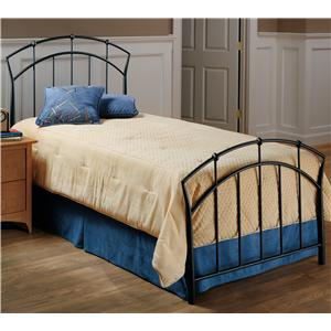 Hillsdale Metal Beds Twin Vancouver Bed Without Rails