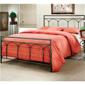 Hillsdale Metal Beds Queen McKenzie Bed