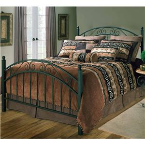 Hillsdale Metal Beds Queen Willow Bed