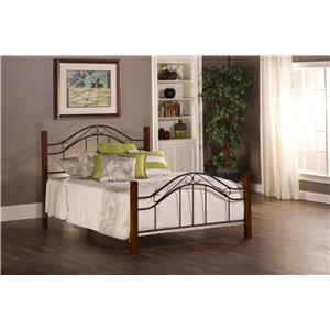 Hillsdale Metal Beds Matson Queen Bed Set