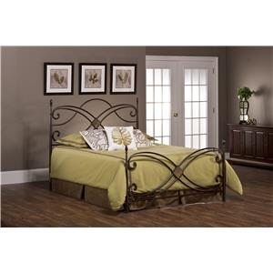 Hillsdale Metal Beds Barcelona Queen Bed Set