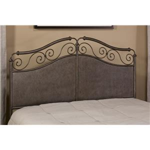 Hillsdale Metal Beds Ravella Queen Headboard with Rails