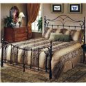 Hillsdale Metal Beds Queen Bennet Bed - Item Number: 1249BQR