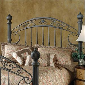 Hillsdale Metal Beds Queen Chesapeake Headboard Grill with Frame