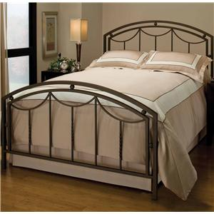 Hillsdale Metal Beds Queen Arlington Bed