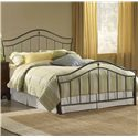 Hillsdale Metal Beds Queen Imperial Bed - Item Number: 1546BQR