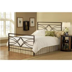 Hillsdale Metal Beds Dutton Queen Bed Set