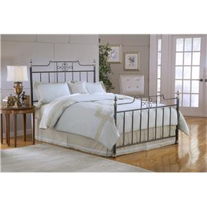 Hillsdale Metal Beds Amelia Queen Bed with Rails Included