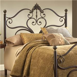 Hillsdale Metal Beds Newton Queen Headboard with Rails