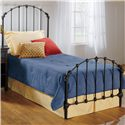 Hillsdale Metal Beds Twin Bonita Bed - Item Number: 346BTWR