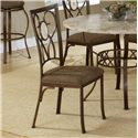 Hillsdale Brookside Oval Fossil Back Dining Chair - Item Number: 4815-802