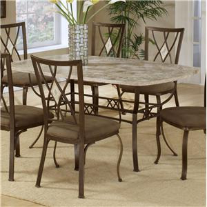 Hillsdale Brookside Rectangle Dining Table