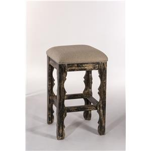"Morris Home Furnishings Callaway Callaway 26"" Backless Barstool"