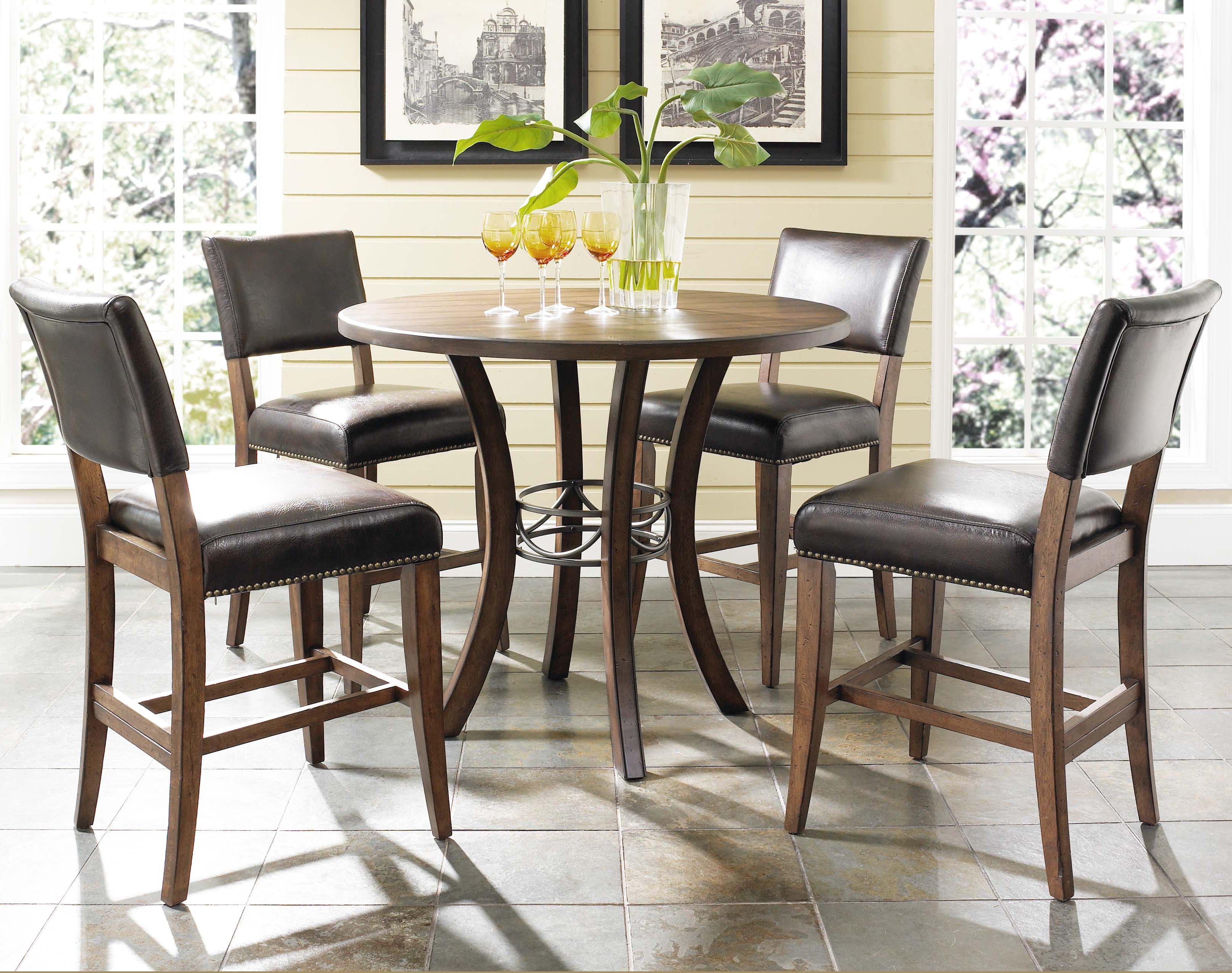 Round  Inch Metal Kitchen Table