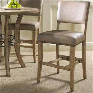 Hillsdale Charleston Parson Non-Swivel Stool