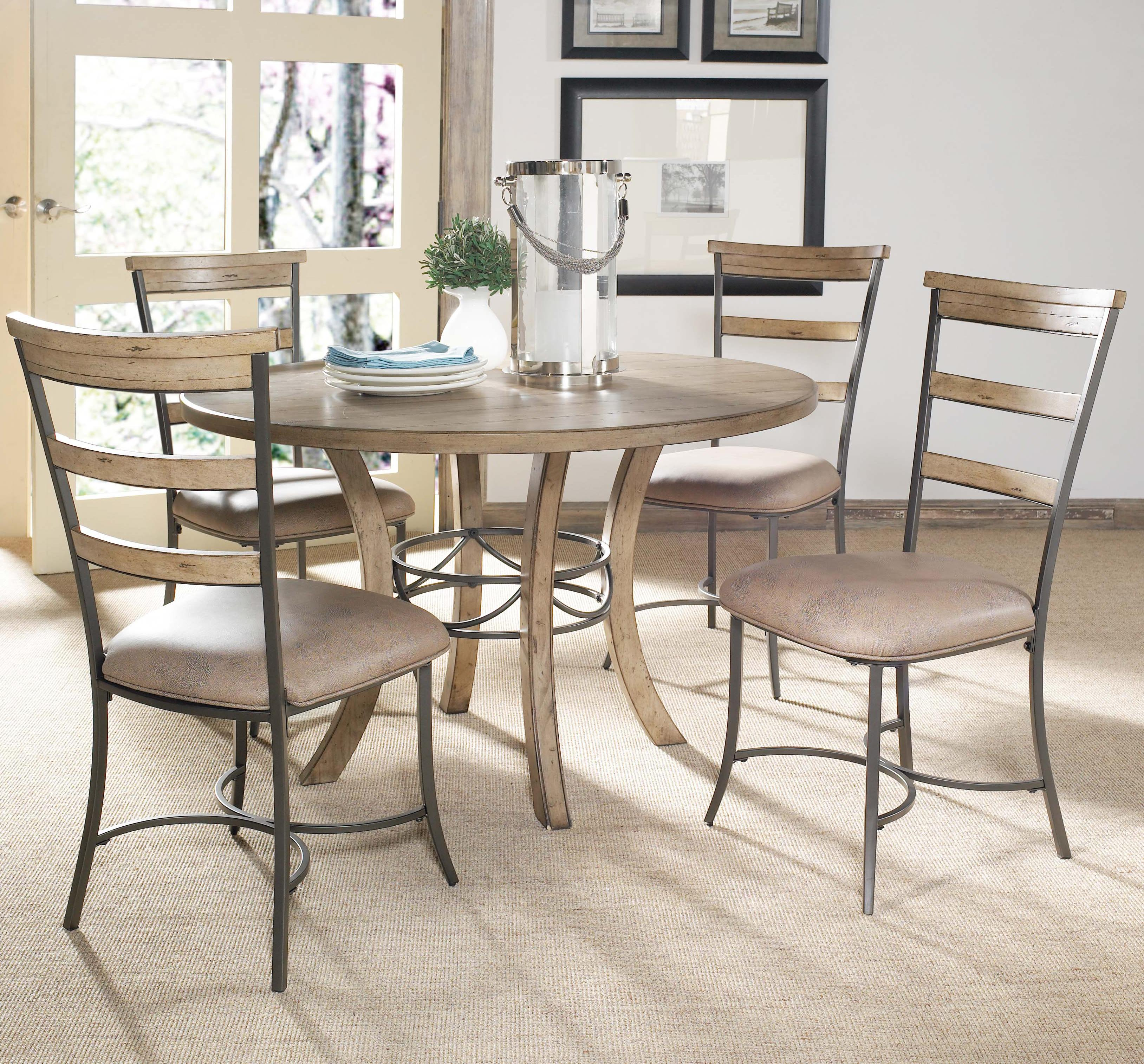 5 Piece Dining Table and Side Chair Set by Hillsdale
