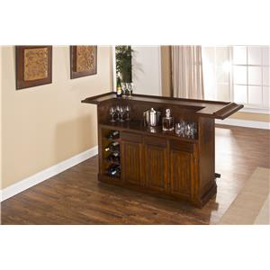 Hillsdale Classic Oak 625 Large Brown Cherry Bar