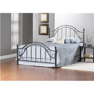Hillsdale Clayton Bed Set - Full - w/Rails