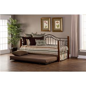 Hillsdale Daybeds Matson Daybed with Suspension Deck and Trund