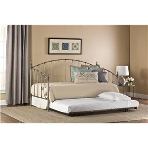Hillsdale Daybeds  Ivy Daybed with Suspension Deck and Trundle