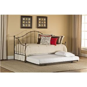 Hillsdale Daybeds Amy Daybed with Suspension Deck and Trundle
