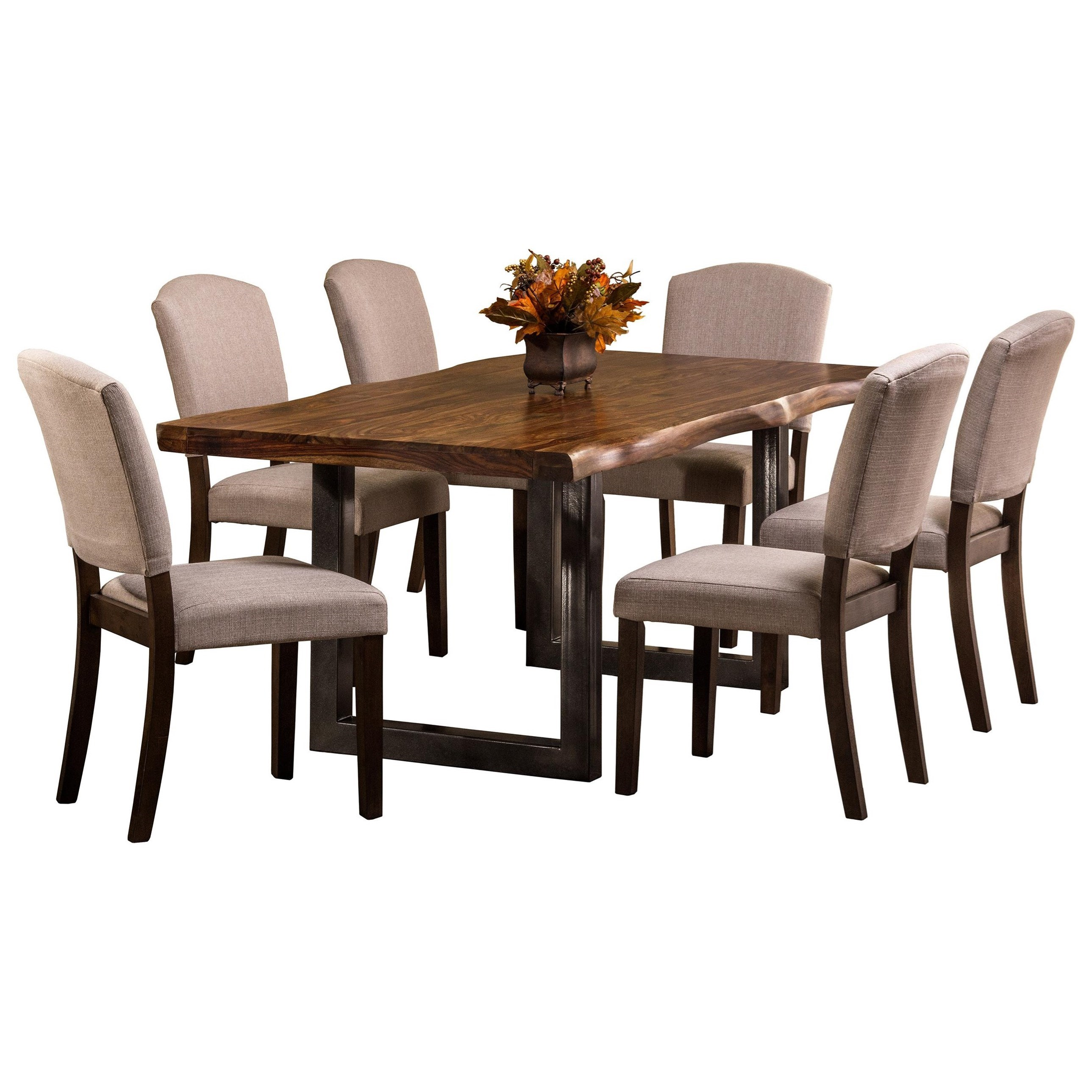 Natural Sheesham Wood Rectangular Dining Table By Hillsdale Wolf And Gardiner Wolf Furniture