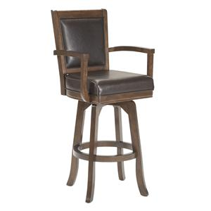 Hillsdale Game Stools & Chairs Ambassador Swivel Bar Stool