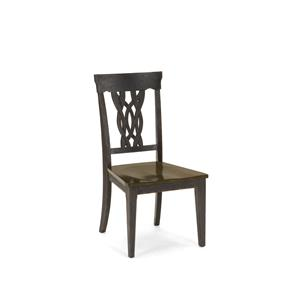 Hillsdale Lafayette Center Panel Wood Seat Dining Chair