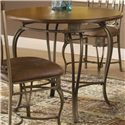 "Hillsdale Montello 36"" Round Dining Table - Item Number: 41541DTB36"