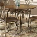 """Hillsdale Montello 45"""" Round Dining Table - Item Number: 41541DTB45"""