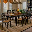 Hillsdale Northern Heights Seven Piece Dining Set - Item Number: 4439DTBC7