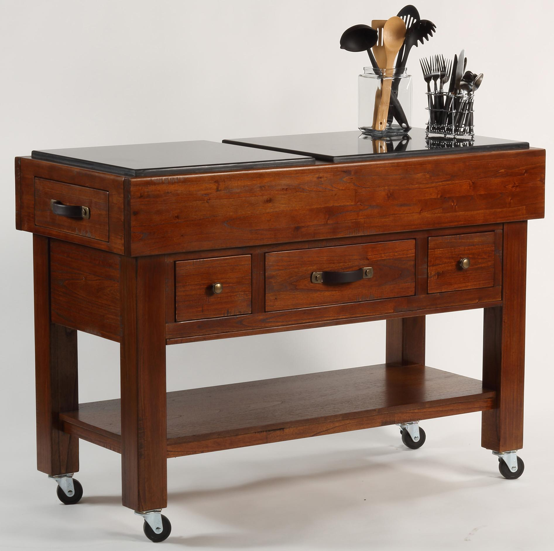 Serving Table w Casters by Hillsdale