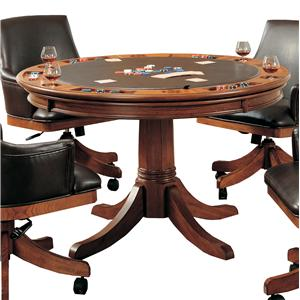 Hillsdale Park View Flip Top Game Table