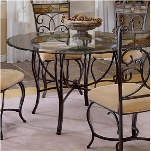 """Hillsdale Pompei 48"""" Round Dining Table"""