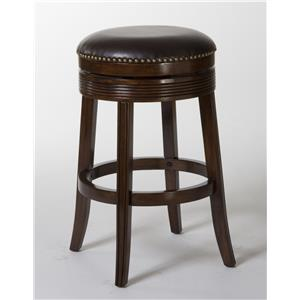 "Morris Home Furnishings Tilden Tilden 26"" Backless Barstool"