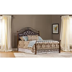 Hillsdale Upholstered Beds Hyde Park Queen Bed Without Rails