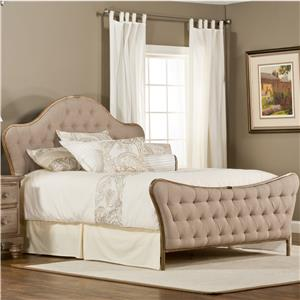 Hillsdale Upholstered Beds Jefferson King Bed Without Rails