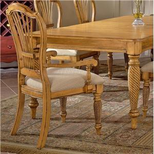 Hillsdale Wilshire Craftsman Arm Chair