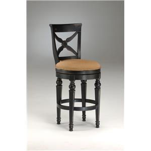 "Hillsdale Wood Stools 30"" Bar Height Northern Heights Stool"