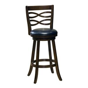 "Hillsdale Wood Stools 26"" Counter Height Elkhorn Swivel Bar Stool"