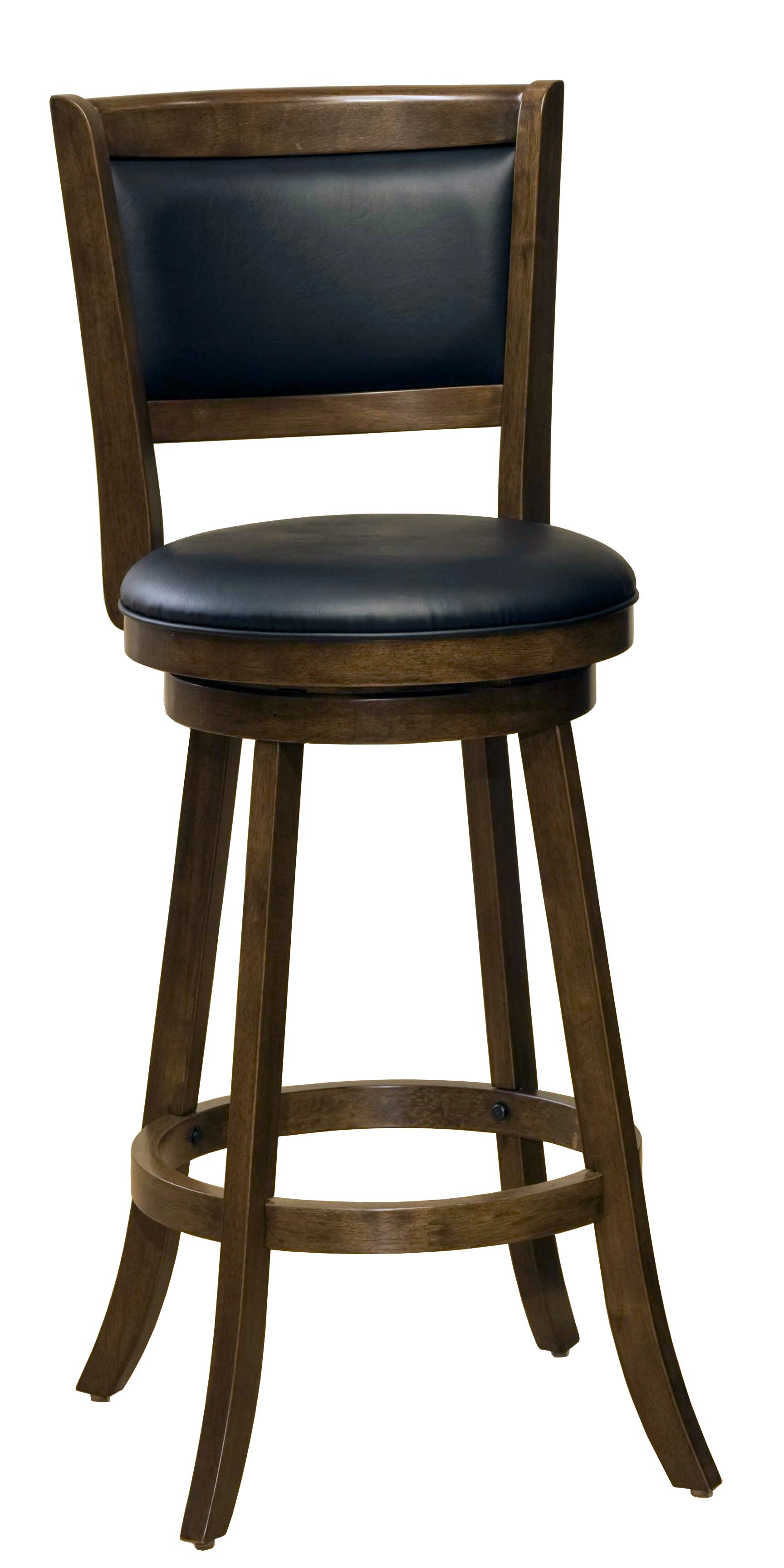 29 Quot Bar Height Dennery Swivel Bar Stool By Hillsdale