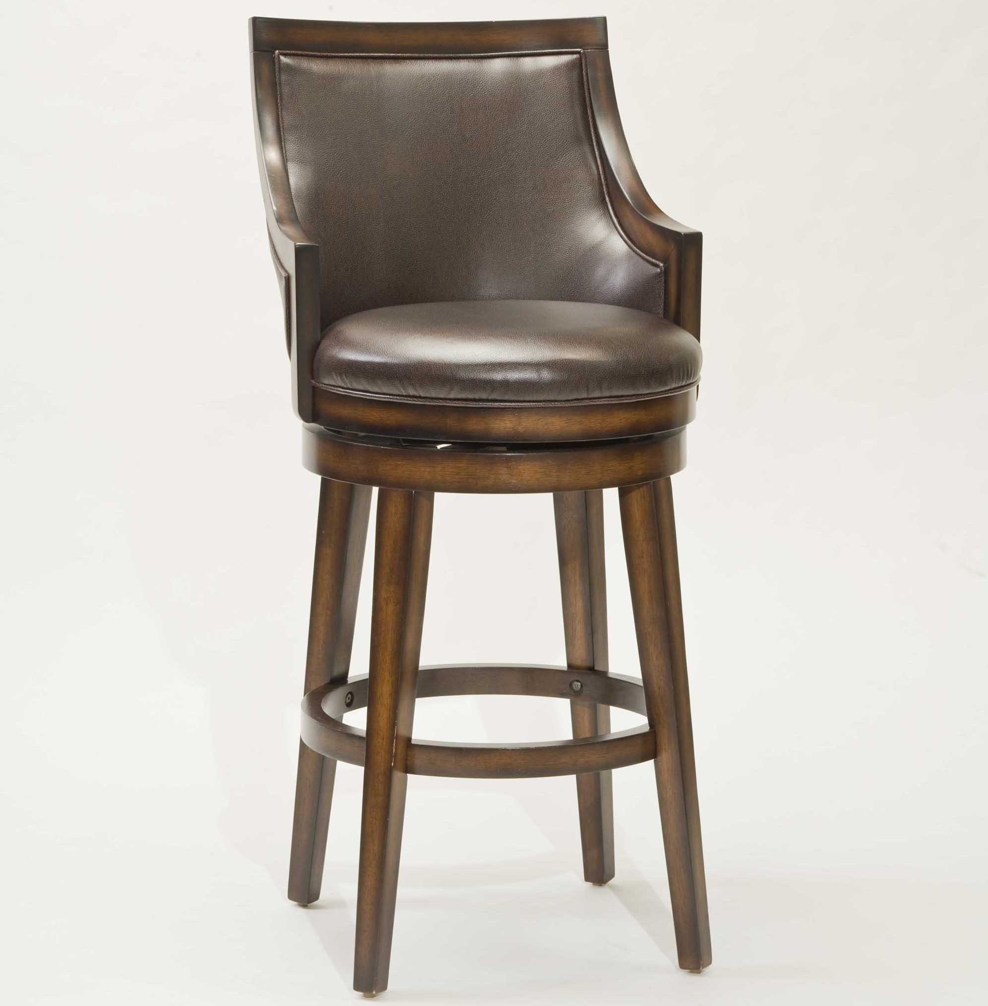 26 Quot Counter Height Lyman Swivel Stool By Hillsdale Wolf