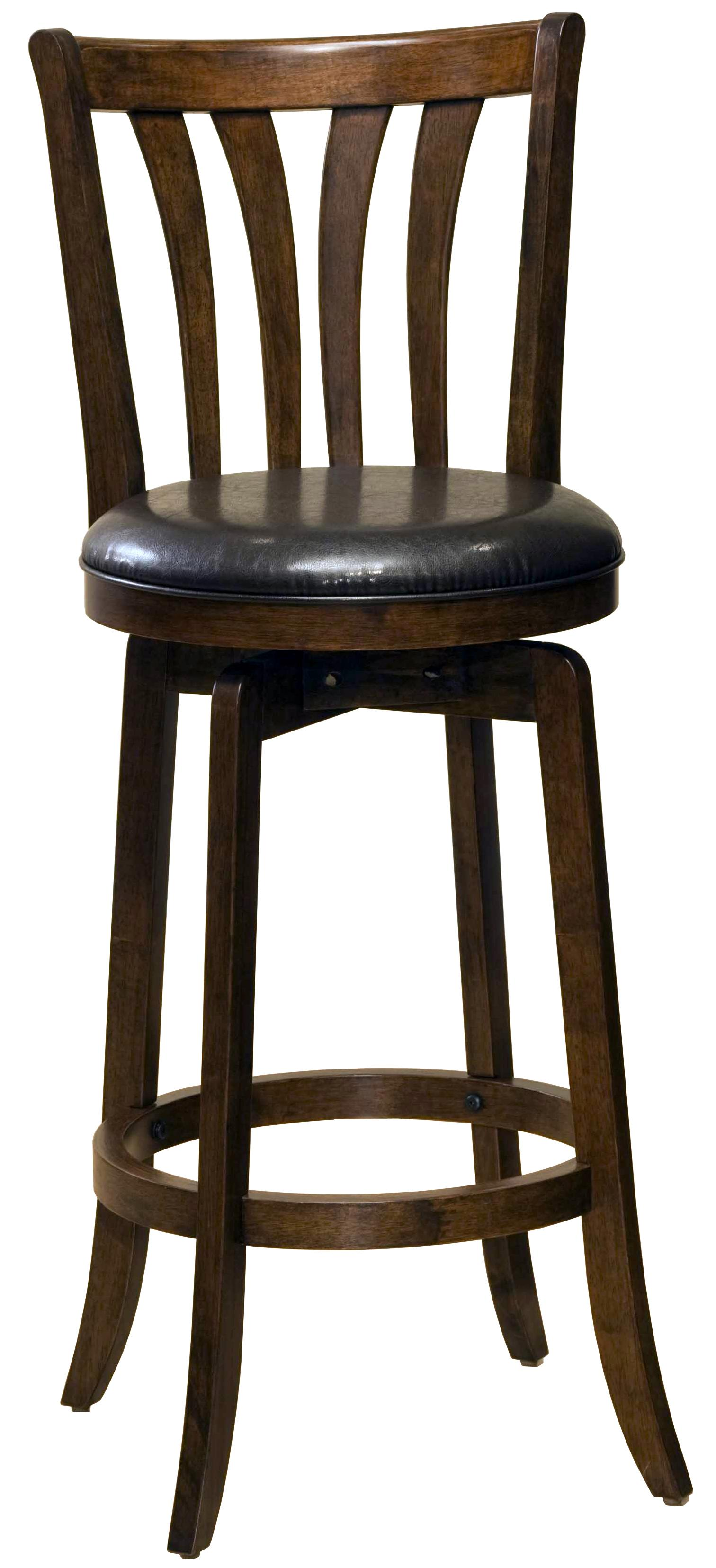 "26"" Counter Height Savana Swivel Bar Stool by Hillsdale"